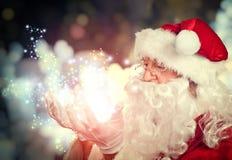 Święty Mikołaj portret Zdjęcia Royalty Free