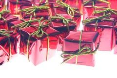 Święty Mikołaj prezenty Fotografia Stock