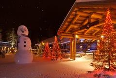Święty Mikołaj wioska Zdjęcia Stock