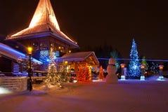 Święty Mikołaj wioska Fotografia Royalty Free