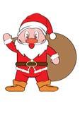 Święty Mikołaj Xmas Fotografia Royalty Free