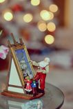 Święty Mikołaj z dziećmi Fotografia Royalty Free