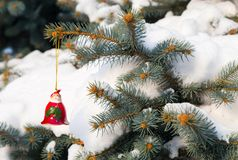 Święty Mikołaj zabawka Zdjęcie Stock