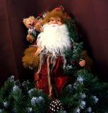 Święty Mikołaj zabawka Fotografia Stock