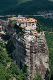 Święty monaster Varlaam Fotografia Royalty Free