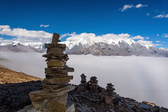 Święty Mt Gongga Obraz Royalty Free