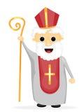 Święty Nicholas ilustracja wektor