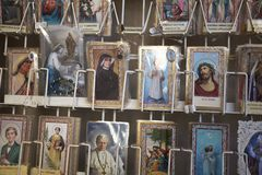 Święty obrazka kiosk obraz royalty free