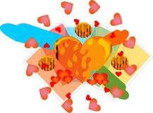 Święty okrąg miłość Fotografia Stock