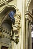 Święty Olivia Palermo - katedra Palermo w Sicily, Włochy Zdjęcie Royalty Free