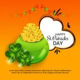 święty Patricks dzień royalty ilustracja
