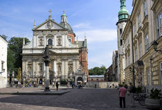 Święty Peter i Paul kościół, Krakow Obraz Royalty Free