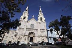 Święty Peter i Paul kościół, San Fransisco Fotografia Stock