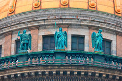 ŚWIĘTY PETERSBURG ROSJA, FEB, - 26, 2016: Trzy anioła świętego Isaacs katedra Obrazy Royalty Free