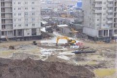 ŚWIĘTY PETERSBURG ROSJA, KWIECIEŃ, - 25, 2018: Budowa wewnątrz Obrazy Stock