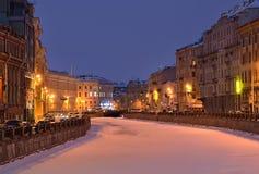 Święty Petersburg, Rosja w zimie Obrazy Stock