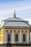 29 06 2017, święty Petersburg, Rosja Wczesny poranek w Peter i Paul fortecy Obraz Royalty Free