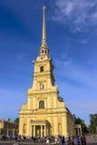 29 06 2017, święty Petersburg, Rosja Wczesny poranek w Peter i Paul fortecy Obrazy Stock