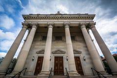 Święty Philip, James uniwersytet i kościół katolicki parafia w b & obraz royalty free