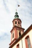 Święty Przecinający kościół, iglica Offenburg, Niemcy (,) Zdjęcia Stock