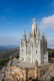 Święty serce Jezusowy kościół, Barcelona Obraz Royalty Free
