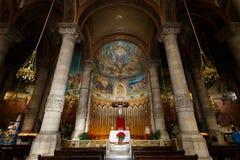 Święty serce Jezusowy kościół, Barcelona Zdjęcia Stock