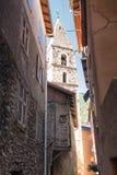 święty, stara Francuska wioska Zdjęcie Royalty Free