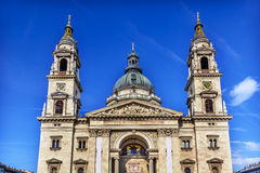 Święty Stephens Katedralny Budapest Węgry Obrazy Stock
