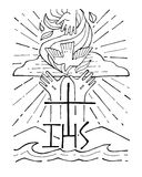 święty trinity ilustracji