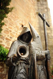Święty tydzień, brązowa rzeźba, Caceres, Extremadura, Hiszpania Obraz Royalty Free