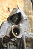 Święty tydzień, brązowa rzeźba, Caceres, Extremadura, Hiszpania Zdjęcie Stock
