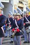 Święty tydzień Malaga Semana Santa Malaga Zdjęcia Royalty Free