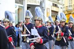 Święty tydzień Malaga Semana Santa Malaga Fotografia Royalty Free