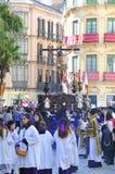 Święty tydzień Malaga Semana Santa Malaga Fotografia Stock