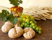 święty winogrona wino fotografia stock