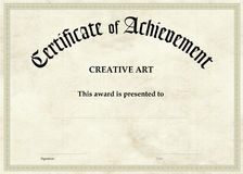 Świadectwo osiągnięcie - Kreatywnie sztuka ilustracji
