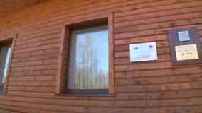 Świadectwo pierwszy bezwolny dom w Lithuania zrozumieniu na ścianie zbiory wideo