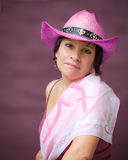 świadomości nowotwór piersi portret obrazy stock