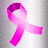 świadomości nowotworu menchii faborek Zdjęcia Royalty Free