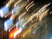 światła abstrakta wzory Zdjęcia Stock
