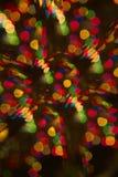 Światła boże narodzenie wakacje Fotografia Stock