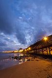 Światła Boardwalk Fotografia Royalty Free