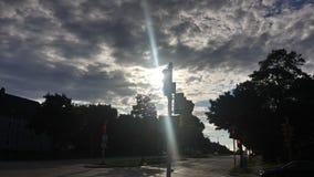 Światła dziennego niebo zdjęcia royalty free