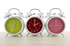 Światła dziennego oszczędzania czasu pojęcie zdjęcia stock