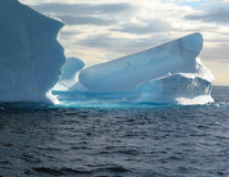 światła lodowej Obrazy Royalty Free