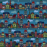 Światła miasteczko ilustracja wektor