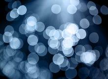 Światła na background Zdjęcia Royalty Free