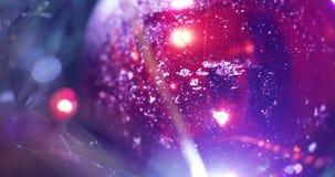 Światła na choince zdjęcie wideo