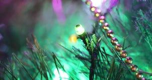 Światła na choince zbiory wideo