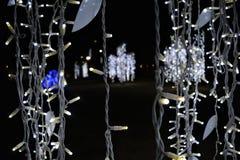 Światła od xmas2 Zdjęcie Royalty Free